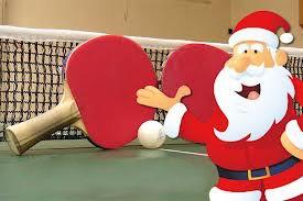 Bildergebnis für weihnachten tischtennis